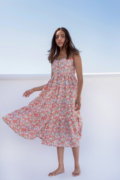Summer Button Down Dress