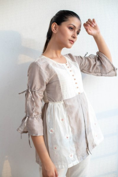 Lace embroidered Shrug